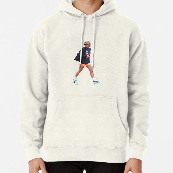 Princess Diana Streetwear Transparent Pullover Hoodie
