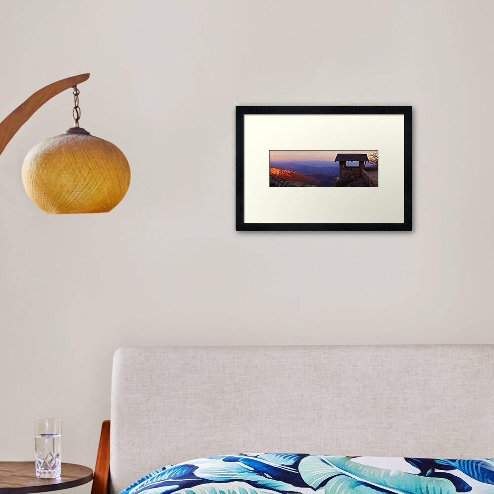 The Horn, Mt Buffalo, Victoria, Australia Framed Art Print