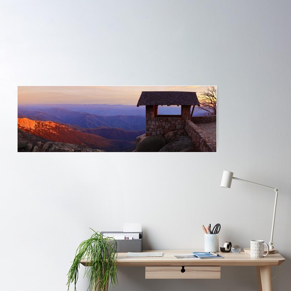 The Horn, Mt Buffalo, Victoria, Australia Poster