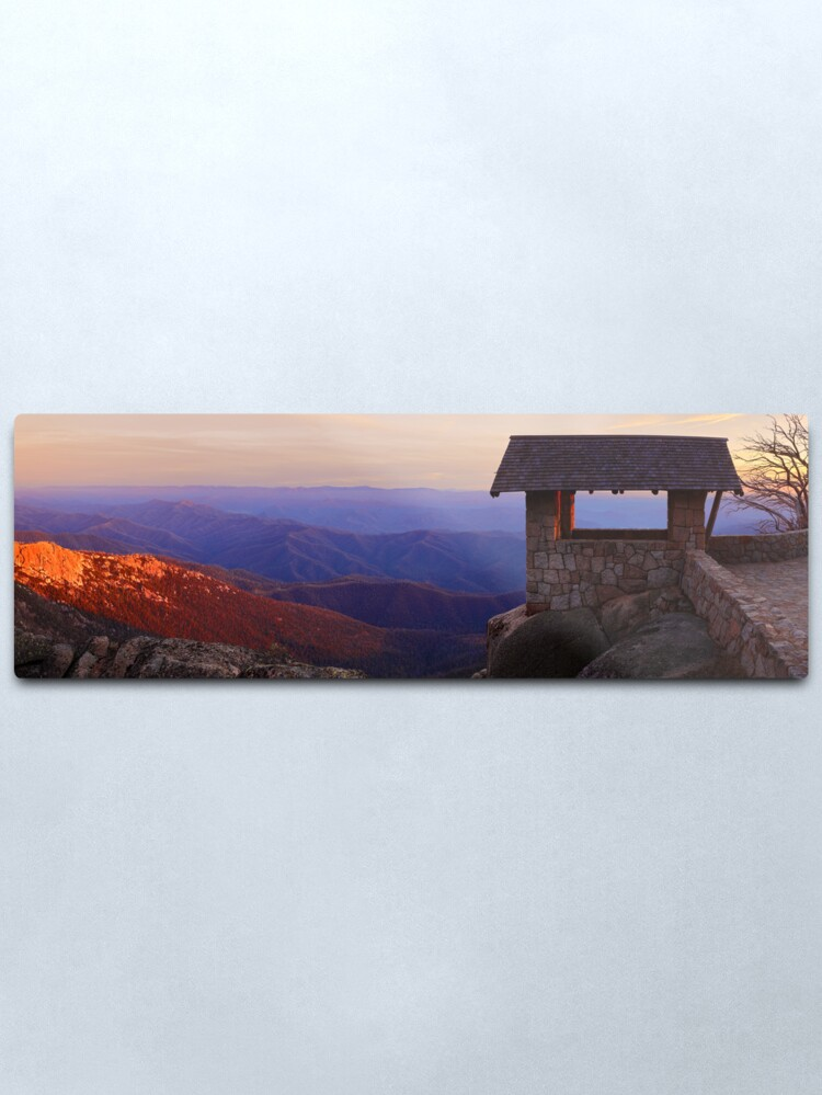 Alternate view of The Horn, Mt Buffalo, Victoria, Australia Metal Print
