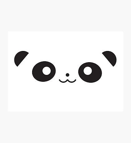 Peekaboo Panda Photographic Print