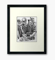 Journal Entry - John and Sons Framed Print