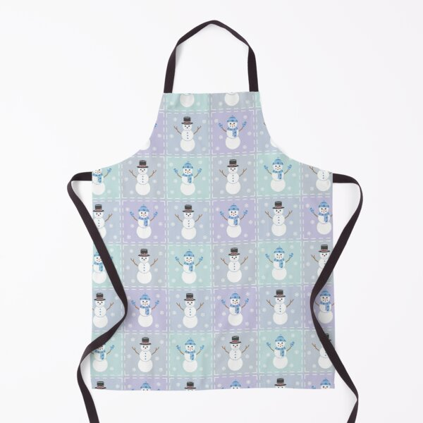 Winter Quilt Apron