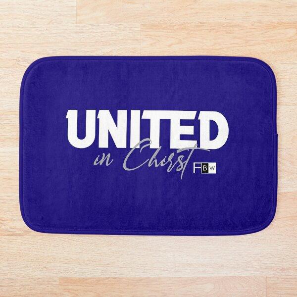 United in Christ Bath Mat