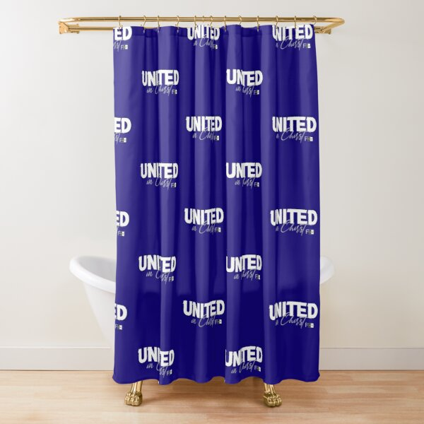 United in Christ Shower Curtain