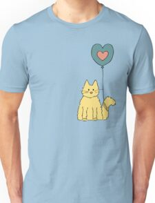 My cat loves balloons Unisex T-Shirt
