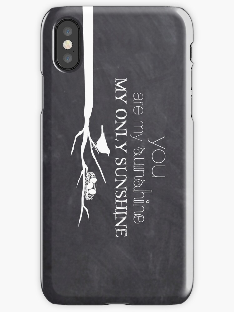 You Are My Sunshine - iPhone - iPad by Janelle Wourms
