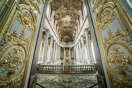 Palace of Versailles by Duncan Fenn