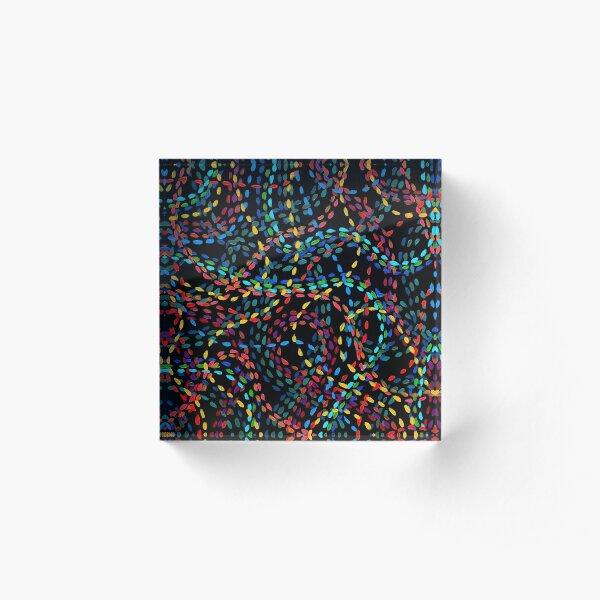Footsteps Acrylic Block