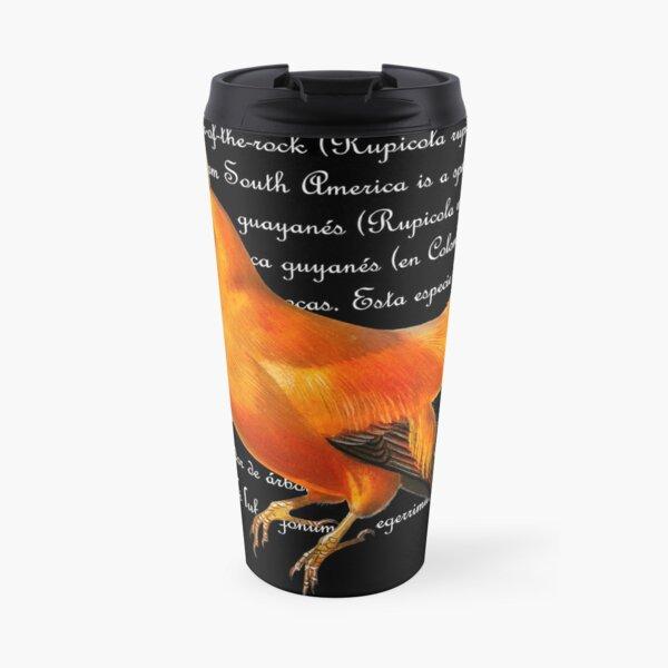 Cock-of-the-Rock Travel Mug