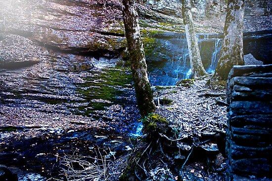December Waterfall by KatieIridescent