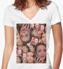 """""""Nancy Jo, this is Alexis Neiers calling..."""" Women's Fitted V-Neck T-Shirt"""