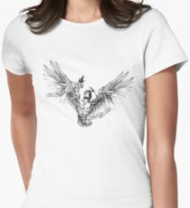 Zyzz - Winged Tee 2 Women's Fitted T-Shirt
