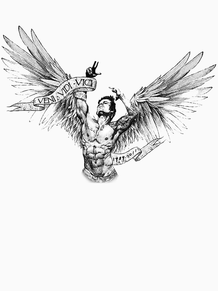 Zyzz - Winged Tee 2 | Unisex T-Shirt