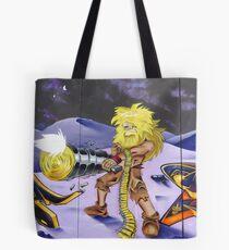 Futuristic Robinson Crusoe Tote Bag