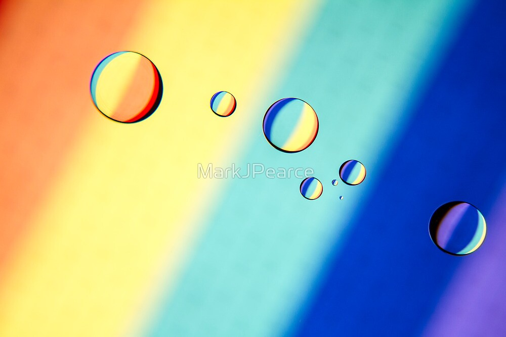 Rainbow Drops by MarkJPearce