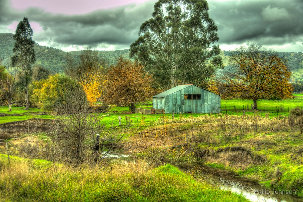 Autumn Dreams #3 - Walwa Victoria - The HDR Experience by Philip Johnson