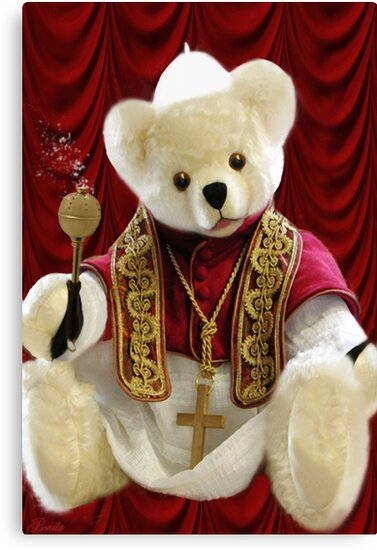 † ❤ † POPE BEAR SPRINKLES BLESSINGS TO ALL † ❤ † by ✿✿ Bonita ✿✿ ђєℓℓσ