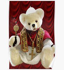 † ❤ † POPE BEAR SPRINKLES BLESSINGS TO ALL † ❤ † Poster