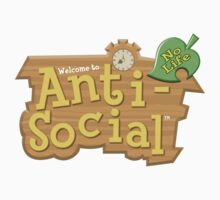 Animal Crossing Anti-Social | Unisex T-Shirt