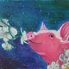 Pig Smelling Orchids by jonezajko