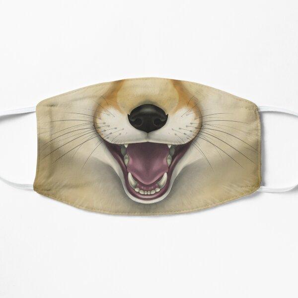 Fennec Fox Face Flat Mask