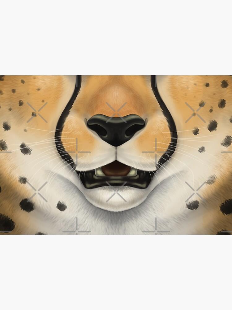 Cheetah Face by SidianArts