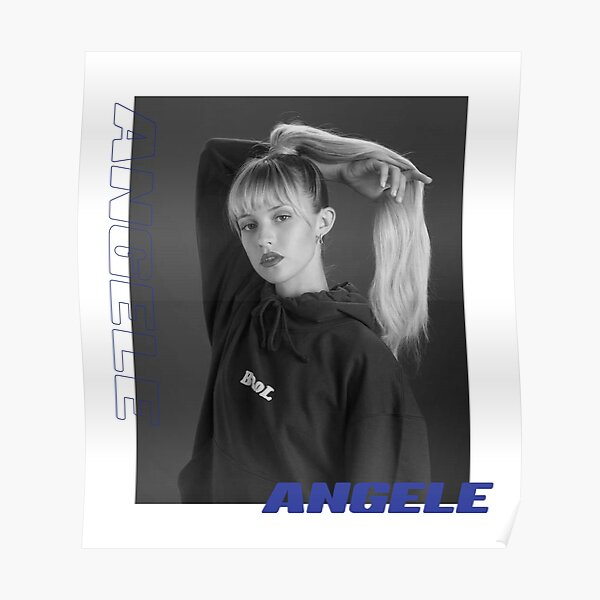 Angèle Poster