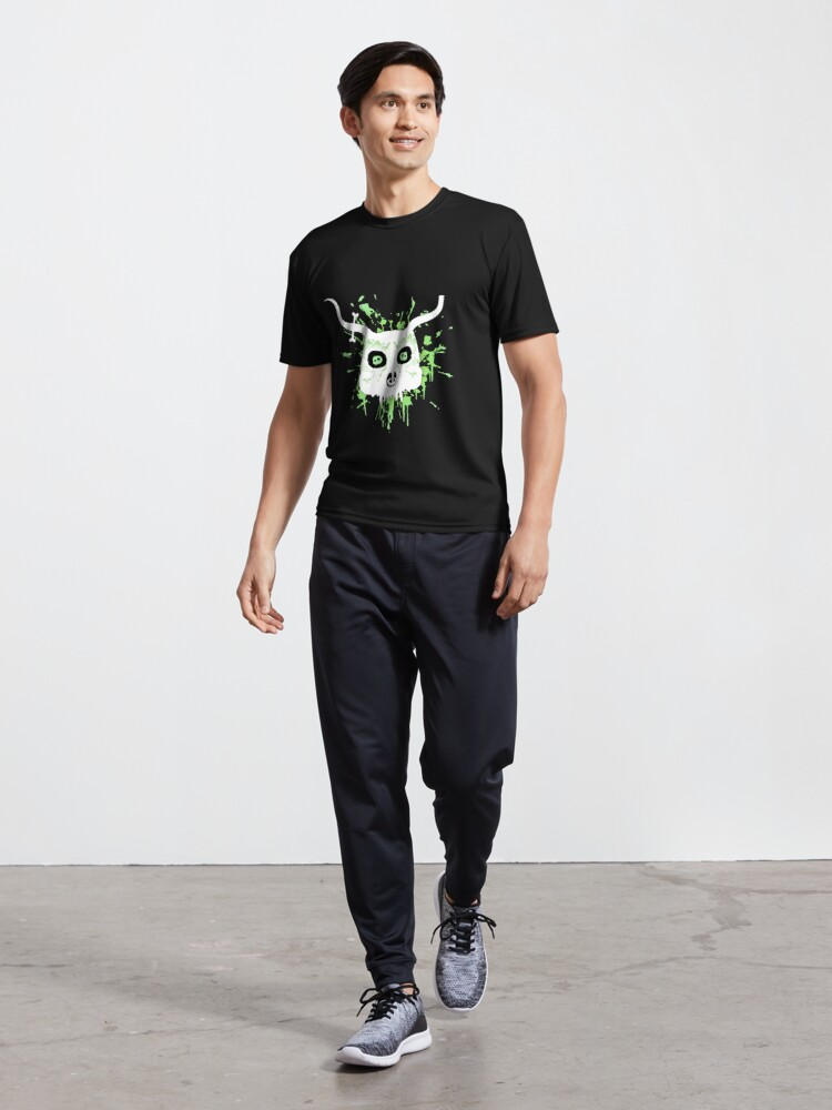 Alternate view of Ankou - series 2 green Active T-Shirt