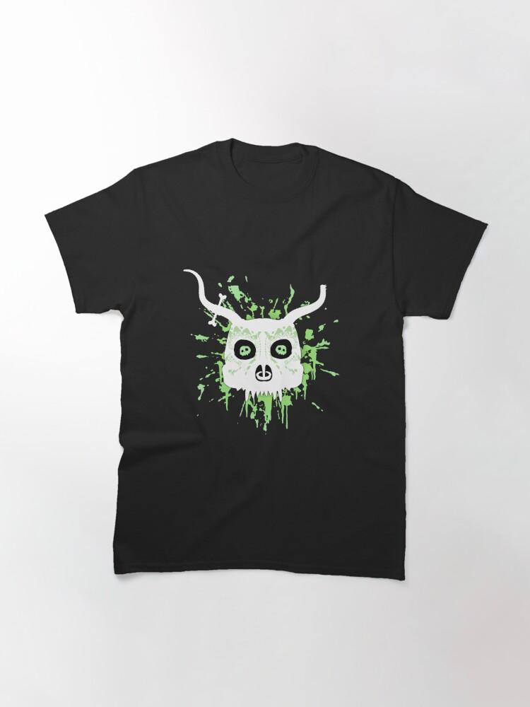 Alternate view of Ankou - series 2 green Classic T-Shirt