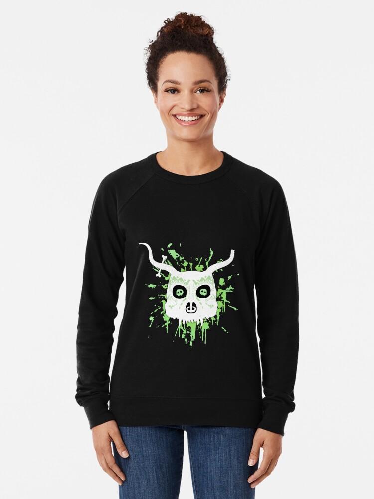 Alternate view of Ankou - series 2 green Lightweight Sweatshirt