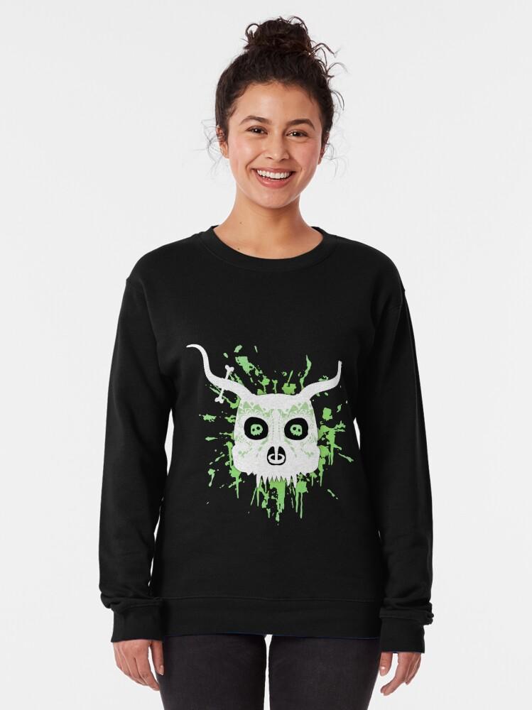 Alternate view of Ankou - series 2 green Pullover Sweatshirt