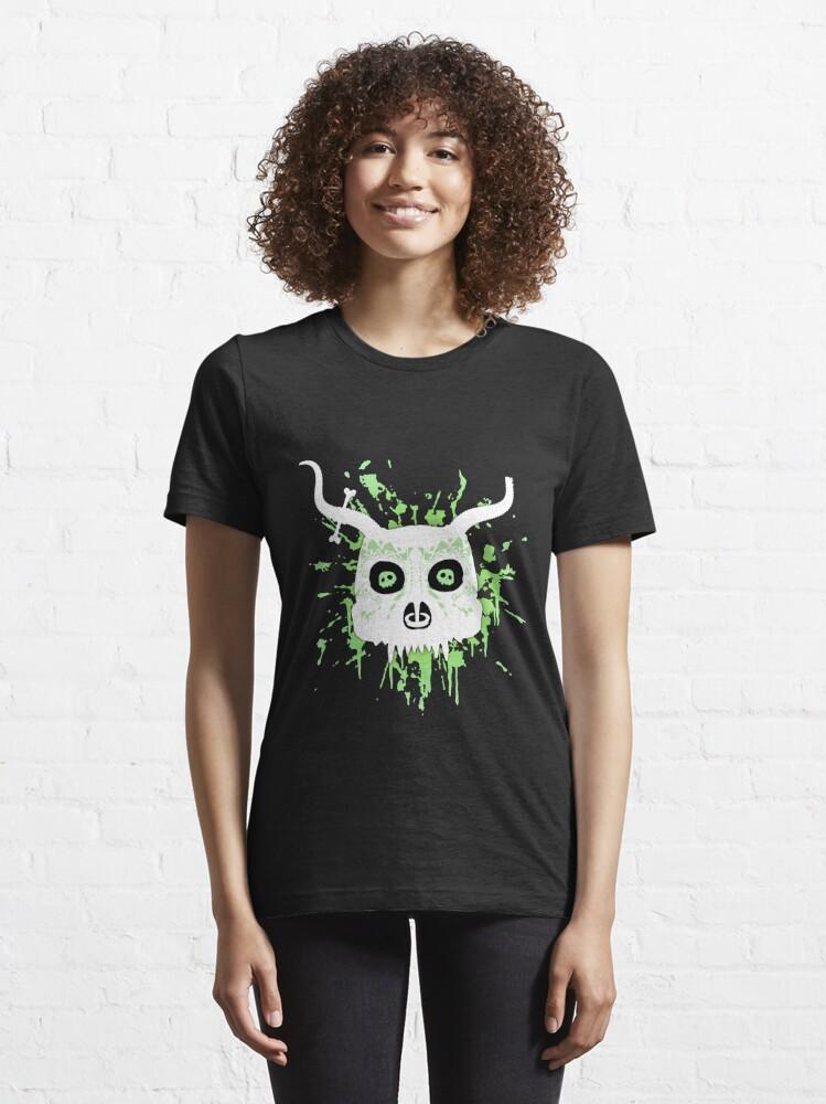 Alternate view of Ankou - series 2 green Essential T-Shirt