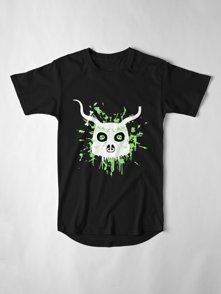Alternate view of Ankou - series 2 green Long T-Shirt