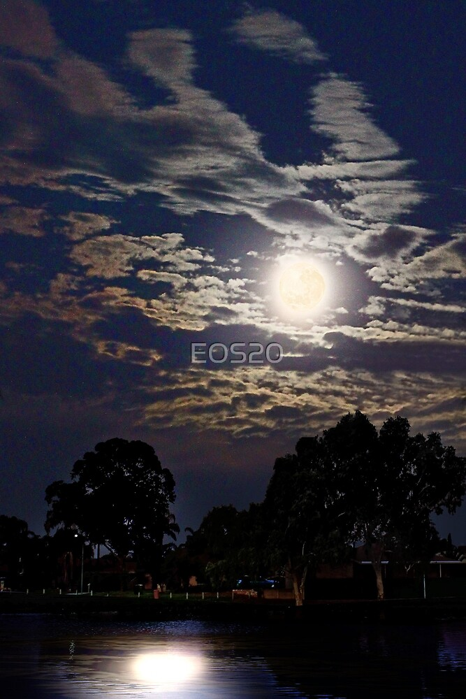 Supermoon - July 2013  by EOS20