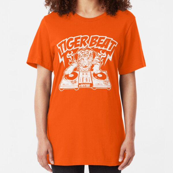 Tiger Beat - A DJ Tiger Slim Fit T-Shirt