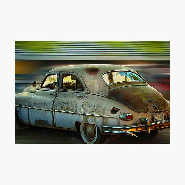 1949 Packard Photographic Print