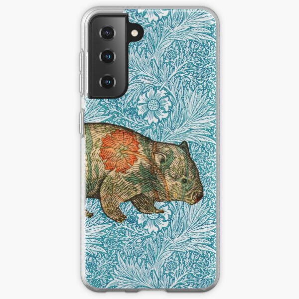 Rossetti's Wombat in Blue Marigold Samsung Galaxy Soft Case