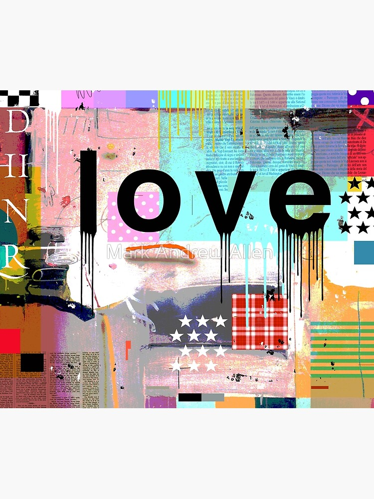 LOVE COLOR by MarkAndrewAllen