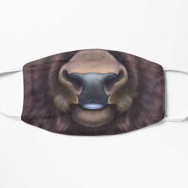 American Bison Face Mask