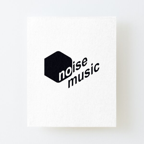 Noise Music - Brazilian label pioneered in Techno #Label001w Canvas Mounted Print