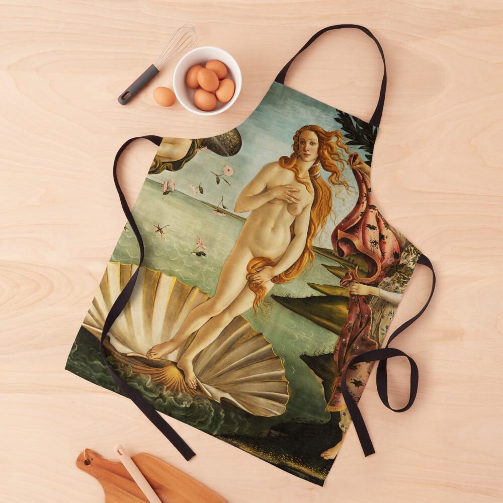 The Birth of Venus by Botticelli Apron