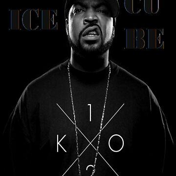 Ice Cube Rainbow by Artiste