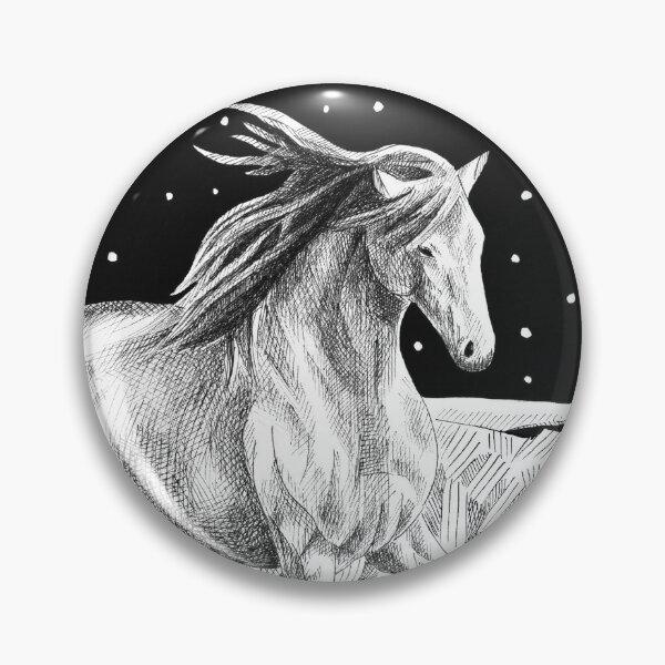 Star Horse Pin