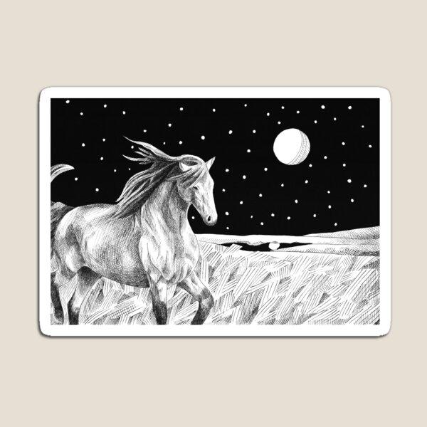 Star Horse Magnet
