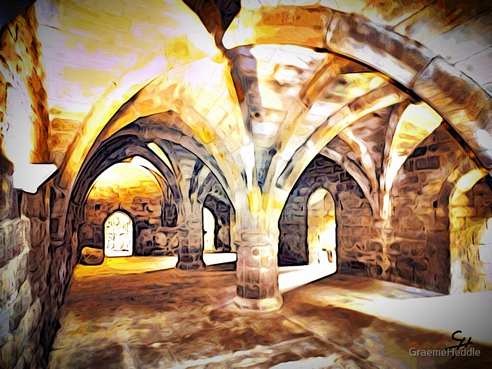 Dunfermline Abbey Undercroft by GraemeHeddle
