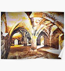 Dunfermline Abbey Undercroft Poster