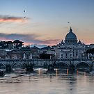 Sunset on Vatican City by Roberto Bettacchi