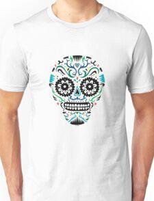 Sugar Skull SF multi om white T-Shirt