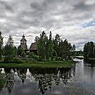 Petäjävesi old church by Henry Moilanen
